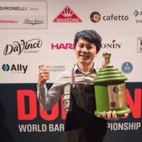 Берг Ву е световният бариста шампион за 2016