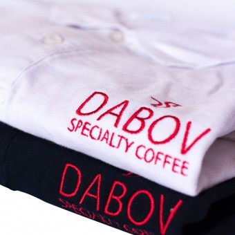 Тениска с яка DABOV Specialty Coffee