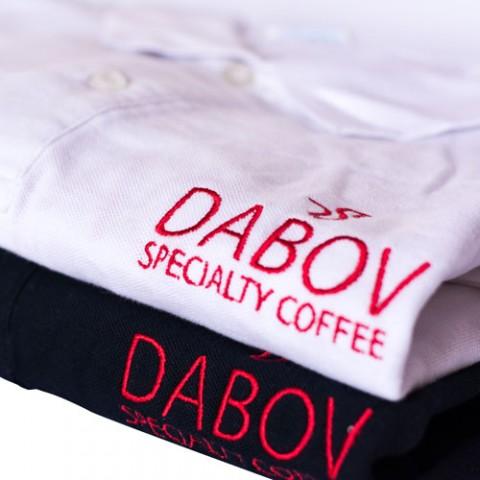 Тениска с яка DABOV Specialty Coffee