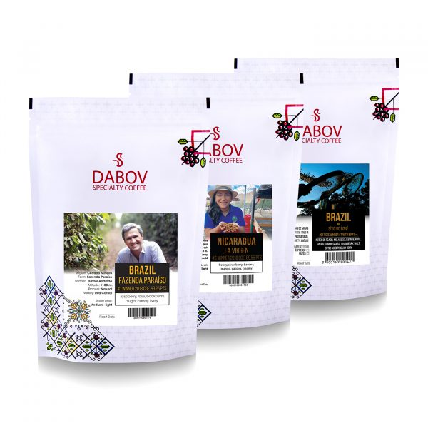 Пакет кафета Cup Of Excellence- Изискан вкус   2 пакета x 200,8г. и 1 пакет х 0.040кг.