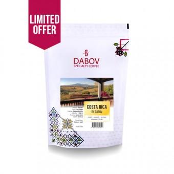 ЛИМИТИРАНА СЕРИЯ! - Годишен абонамент за кафе Коста Рика by DABOV 12 пакета по 1kg
