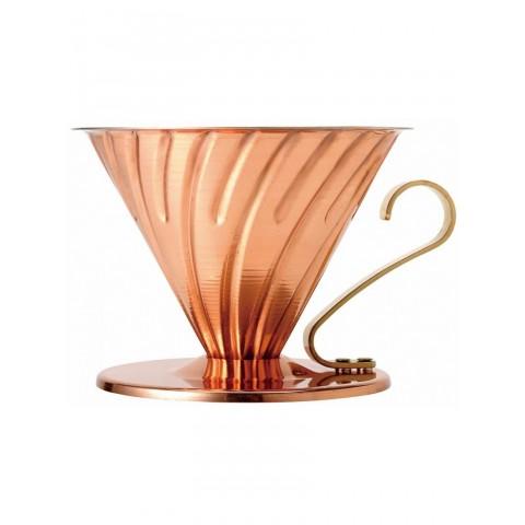 Харио - уред за филтриране на кафе - меден V60-02