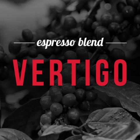 COFFEE OF FEBRUARY 2016 Espresso blend Vertigo 200.8 g.