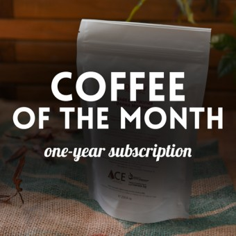 Subscription for Coffee of the month - 12 packages of 1 kg