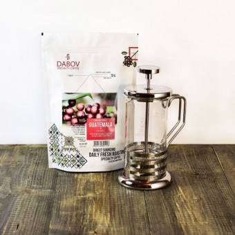 French Press and 365 Days Special Coffee