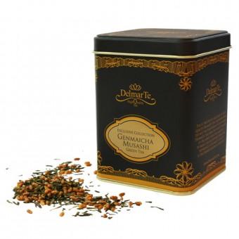 "Зелен чай с оризови пуканки ""Генмайча Мусаши"" - DelmarTe Exclusive"