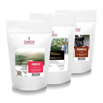 Pack Exclusive coffees  Exclusive taste  | 3 packs x 40g. each