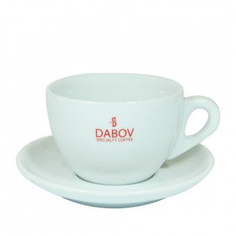 Porcelain latte grande cup Dabov 260 ml.