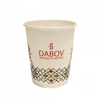 Paper cup for cappuccino 240 ml.- 10 pc