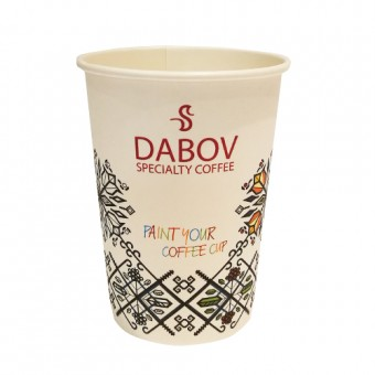 Paper cup for latte - 10 pc