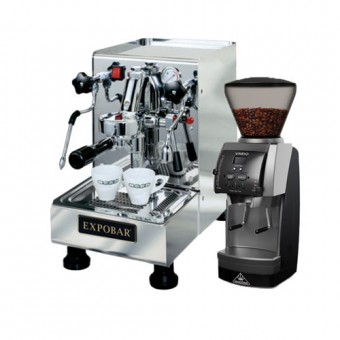 """Espresso equipment """"Espesso at Home – Easy"""" WITH ONE YEAR SUPPLY OF 1 KG COFFEE of the month"""