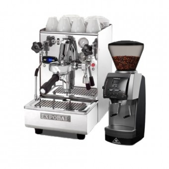 """Espresso equipment """"Espresso at Home – Lux"""" WITH ONE YEAR SUPPLY OF 1 KG """"COFFEE of the Month"""""""