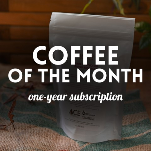 Subscription for Coffee of the month - 24 packages of 200.8 g