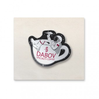 DABOV Specialty Coffee Cosmonaut Pin